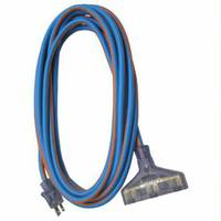 Heavy Duty 100' Extreme Weather Triple-Tap Cord