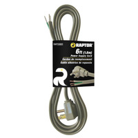 Power Supply 6' Straight Power Supply Cord